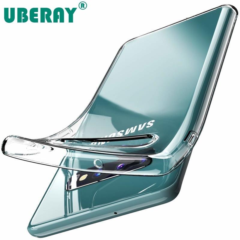 Прозрачный мягкий силиконовый чехол из ТПУ для телефона Samsung Galaxy S20 S10 Plus S10e S10Plus S10 Lite e S30 Note20, задняя крышка