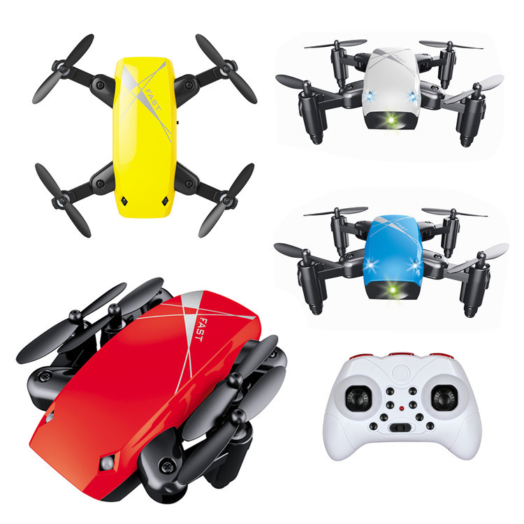 Foreign Trade S9 Folding Quadcopter WiFi Image Transmission Set High Aerial Remote-control Aircraft Mier Unmanned Aerial Vehicle