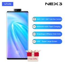 vivo Nex3 5G Celular Snapdragon 855plus 4500mAh Battery 44WFlash Charge6.89'' Su