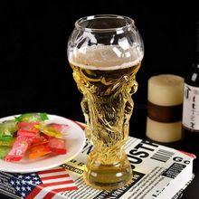 Стеклянная кружка для пива Футбол Кубок мира 450 мл футбольный моделирование стеклянная кружка для пива Кристалл тумблер Для Виски Бар Пиво Вечерние