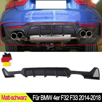 MagicKit Rear Bumper Diffuser M Performance For BMW F32 F33 435i Quad Tip Exhaust 2014-18 image