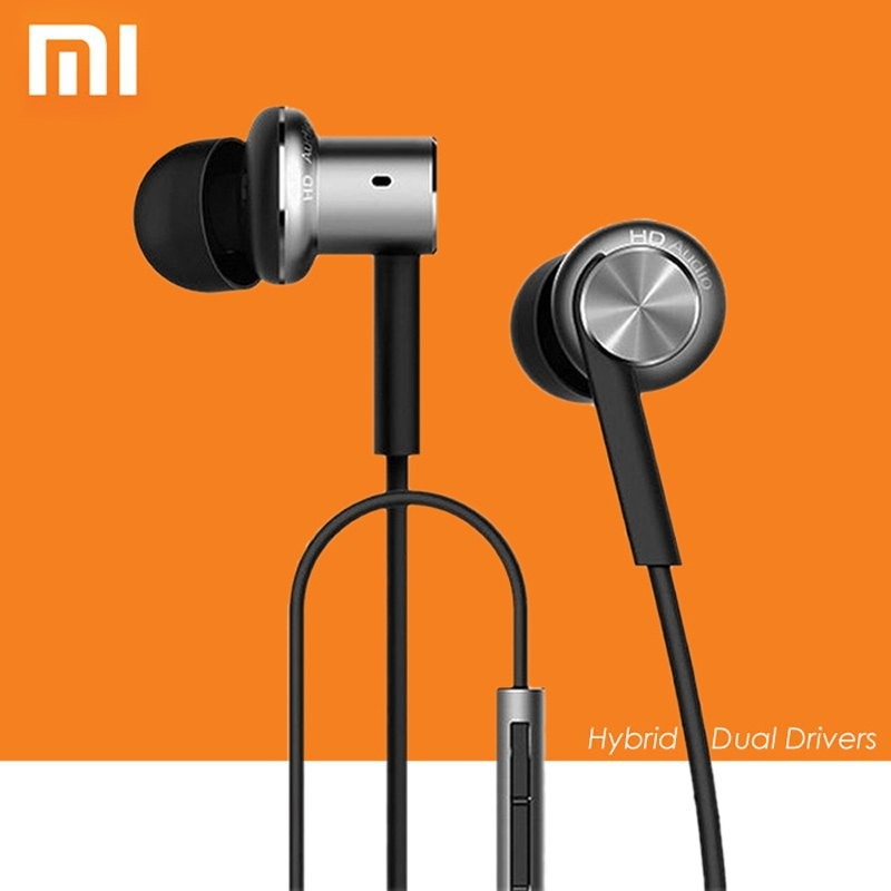 Original <font><b>Xiaomi</b></font> Hybrid <font><b>Earphone</b></font> In-Ear HiFi <font><b>Earphones</b></font> Mi Piston 4 With Mic For Mi 4C 4S 5 5S 5X 5S Redmi 5 k20 note 3 7 8 pro image
