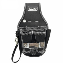 Multifunctional Oxford cloth tool kit hardware thickened wear-resistant waist bag waist hanging bag electrician simple type