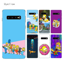 Uyellow Soft Case For Samsung S8 S9 S10 S10E Plus J4 J6 J8 A6 A7 A8 A9 2018 Note 8 9 10 Pro Cover Homer Draw Simpson Shell