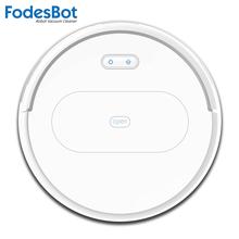 Робот-пылесос FodesBot OB11 развертки мокрого уборки приложение дистанционное управление автоматическая зарядка турбинная щетка планирование режим ковра очиститель