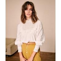 Elegant Turtleneck Blouse Women 2020 Long Sleeve Ruffles Casual Streetwear Autumn Summer Vintage White Blouses Shirts