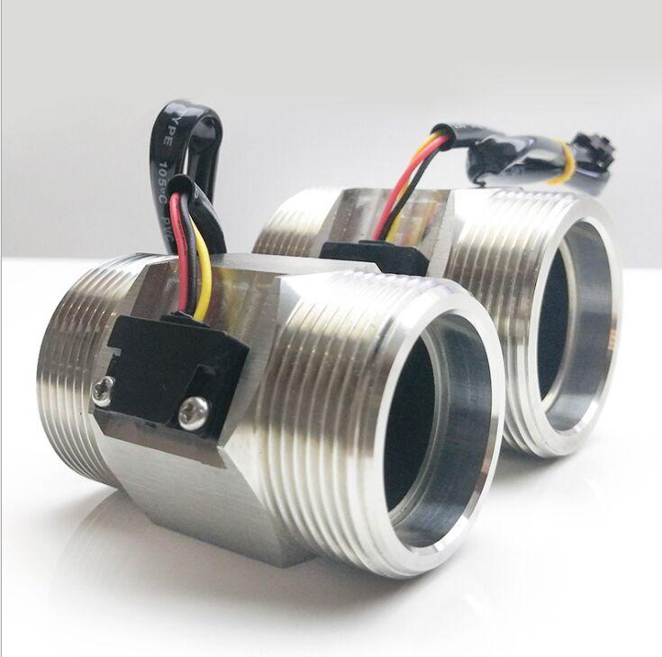 Tools : 2019 NEW S304 G2inch DN50  Hall Turbine Water Flow Meter Sensor 2 inch Flow Sensor