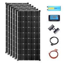 Система солнечной панели 700 Вт 12 В 720 с инвертором 2000