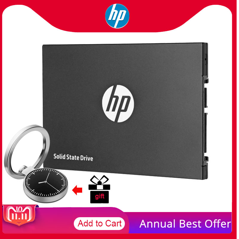 "HP SSD 1TB 500GB 250GB 120GB TLC Disc Solid State Disks 2.5"" with Cell Phone Holder for gift SATA HDD for Laptop PC Desktop