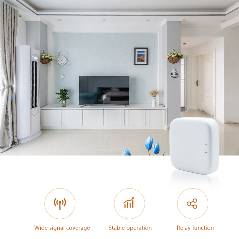 2020 Mini Zigbee Wireless Intelligent Gateway Smart Home Control System Linkage Zigbee Protocol Device Automation Modules
