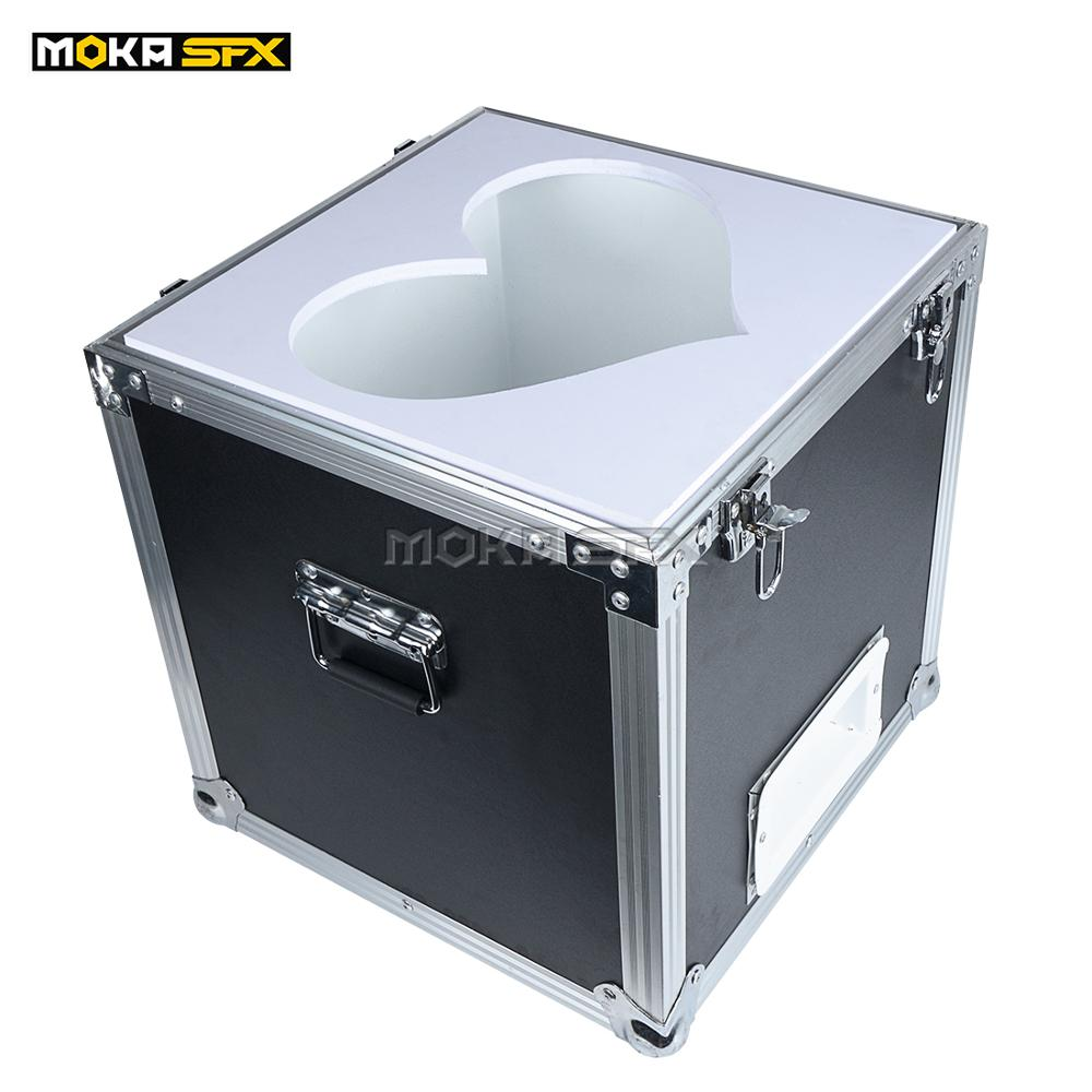 Stage Cloud Maker Machine Colorful Foam Bubble Machine Manual Control Flight Case Packing Helium Foam Machine For Wedding Party