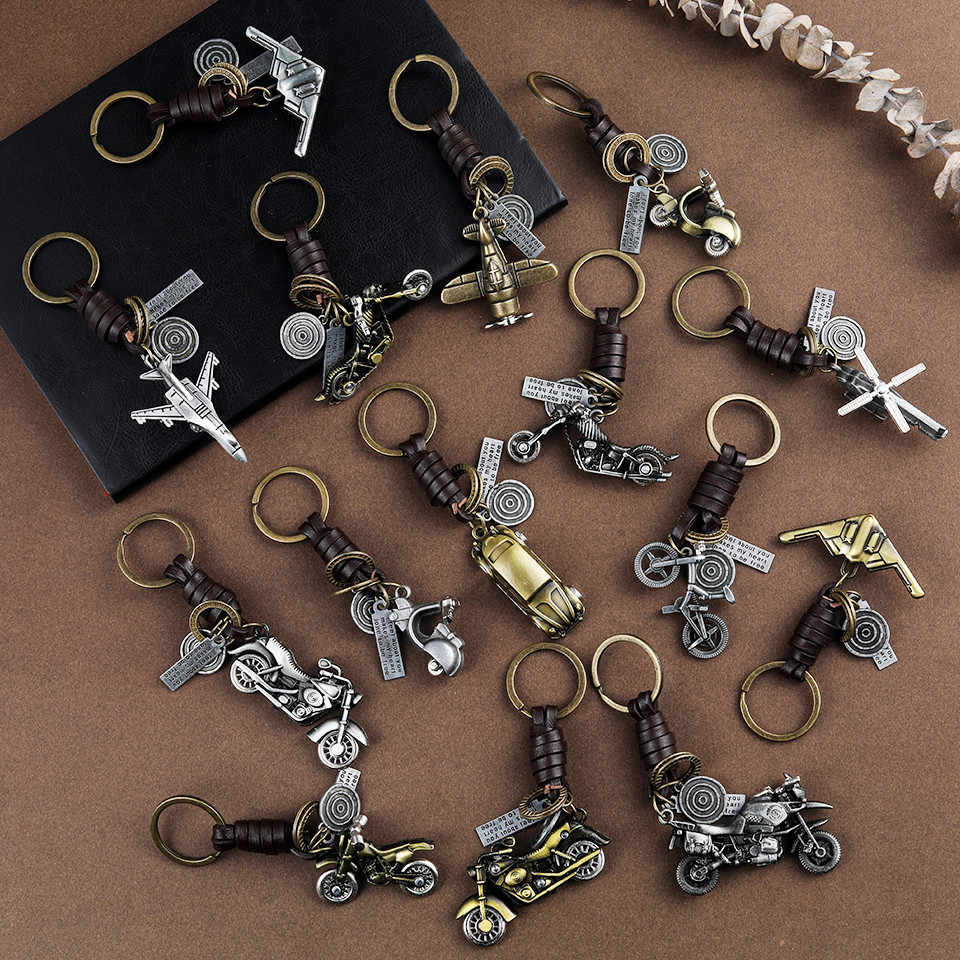 Móc chìa khóa xe hợp thời trang Quà tặng cho phụ nữ Đàn ông Phụ kiện Phụ kiện móc chìa khóa Nhẫn xe đạp Tàu vũ trụ Chìa khóa Mặt dây chuyền Móc chìa khóa Bán buôn Dropshipping