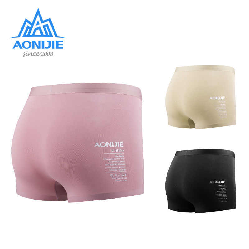 AONIJIE 3Pcs/Set Quick Drying Panties Women Modal Underwear Breathable Sports Boxer Briefs For Outdoor Yoga Gym Fitness Running