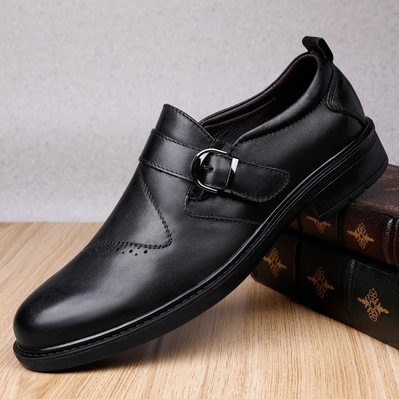 Classic Business Men s Dress Shoes Fashion Elegant Formal Wedding Shoes Men Slip On Office Oxford