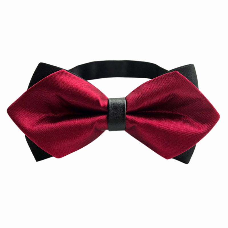 Men\'s Bow Tie Gold Paisley Bowtie Business Wedding Bowknot Dot Bow Ties For Groom Party Accessories