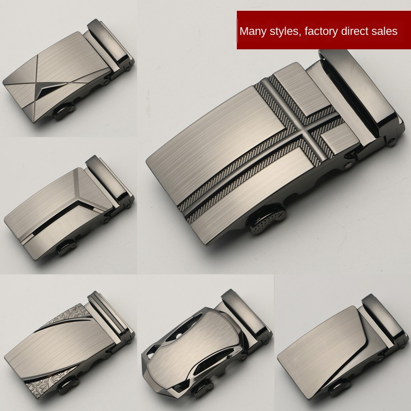 Genuine Product Men Belt Buckle Casual Belt Head Business Accessories Automatic Buckle Wide-3.5 Cm Belt Buckles Alyx