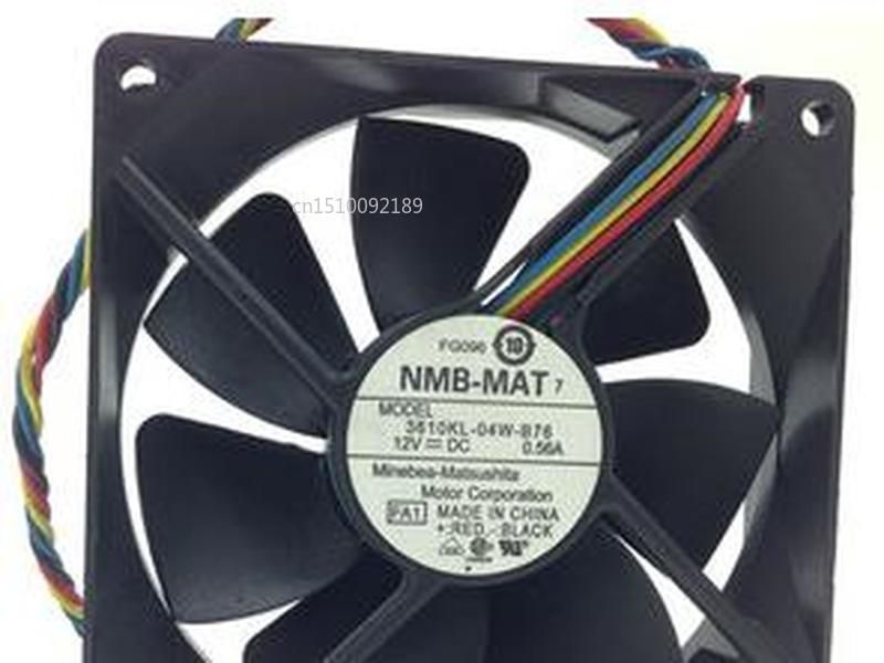 For NMB-MAT 3610KL-04W-B76 FA1 DC 12V 0.56A 92x92x25mm 4-wire Server Cooler Fan Free Shipping