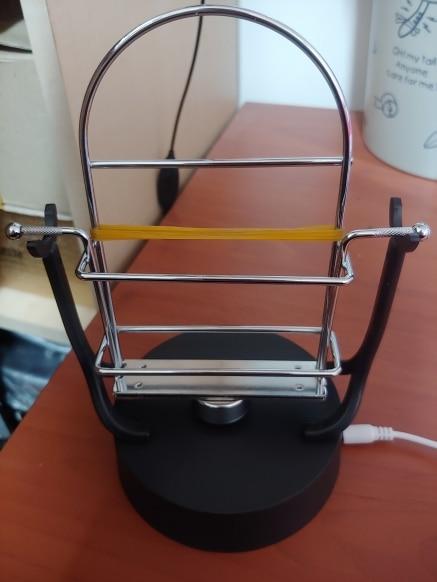 Nenhum grânulos automático andando balanço do telefone móvel pedômetro stepper máquina alimentado por carga usb balancim artesanato ornamentos decoração