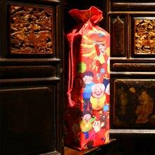 Характерный подарок, украшение для свадебной вечеринки, домашний конверт, на год, счастливое слово, на дверь, Весенний фестиваль, красный Бог, китайский стиль