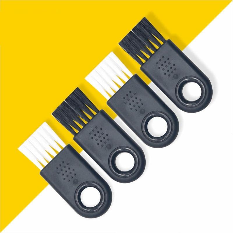 1pc Multipurpose Window Cleaner Brush Keyboard Groove Flat Small beard Brush Sliding Door Computer Vent Cleaning Tool
