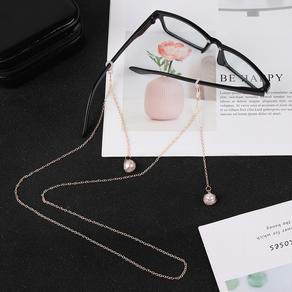 Glasses Chain Metal Fashion Pentagram Gold Women Rope 1PC Jewelry Pendant Fruit Zinc-Alloy