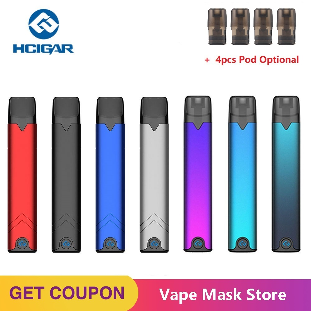 Brand New Hcigar Akso OS Pod Vape Kit 420mAh Battery W/ Buckle Locking System & 1.4ml Pod System Vs MINIFIT/ Drag Nano/ Zero Kit