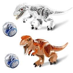 79151 bloques de construcción modelo Rex tyrannosaures del mundo de dinosaurio Jurásico LELE