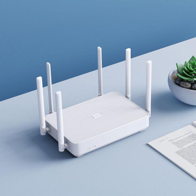 New 2020 Xiaomi Redmi AX6 Wireless Router 2976 Mbps Mesh WIFI 6 2.4G / 5G Dual-Frequency 512MB OFDMA 6 Antennas Repeater PPPOE 2