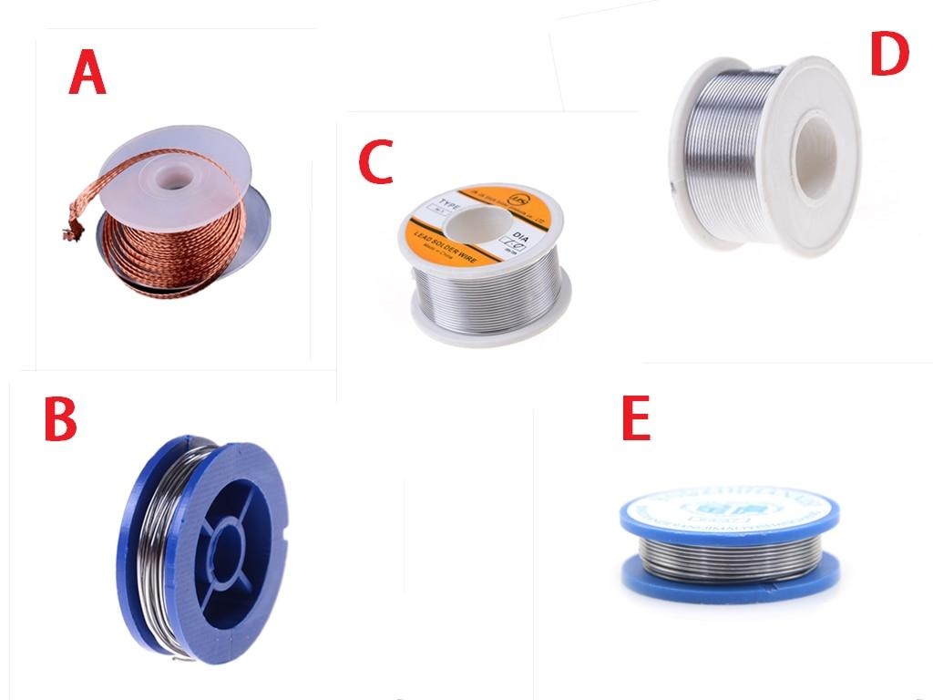 3.5mm Desoldering Braid Solder Remover Wick Wire Repair Tool Rosin Core Tin Lead 0.7mm 1.5mm 1mm Soldering Welding Iron Wire