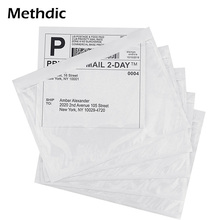 7.5'x 5.5' Document Packing List Envelope Clear Pouch