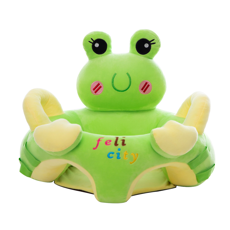Babies Learn To Sit On A Small Sofa Chair. Babies Cartoon Children Anti-wrestling Chair Training Chair. Artifact Training Stool