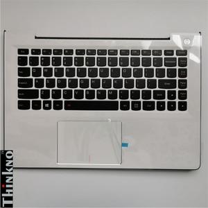 Nuevo para Lenovo Ideapad 500S-13ISK U31-70 funda superior palmrester C cubierta con teclado con almohadilla táctil blanca 5CB0J30971