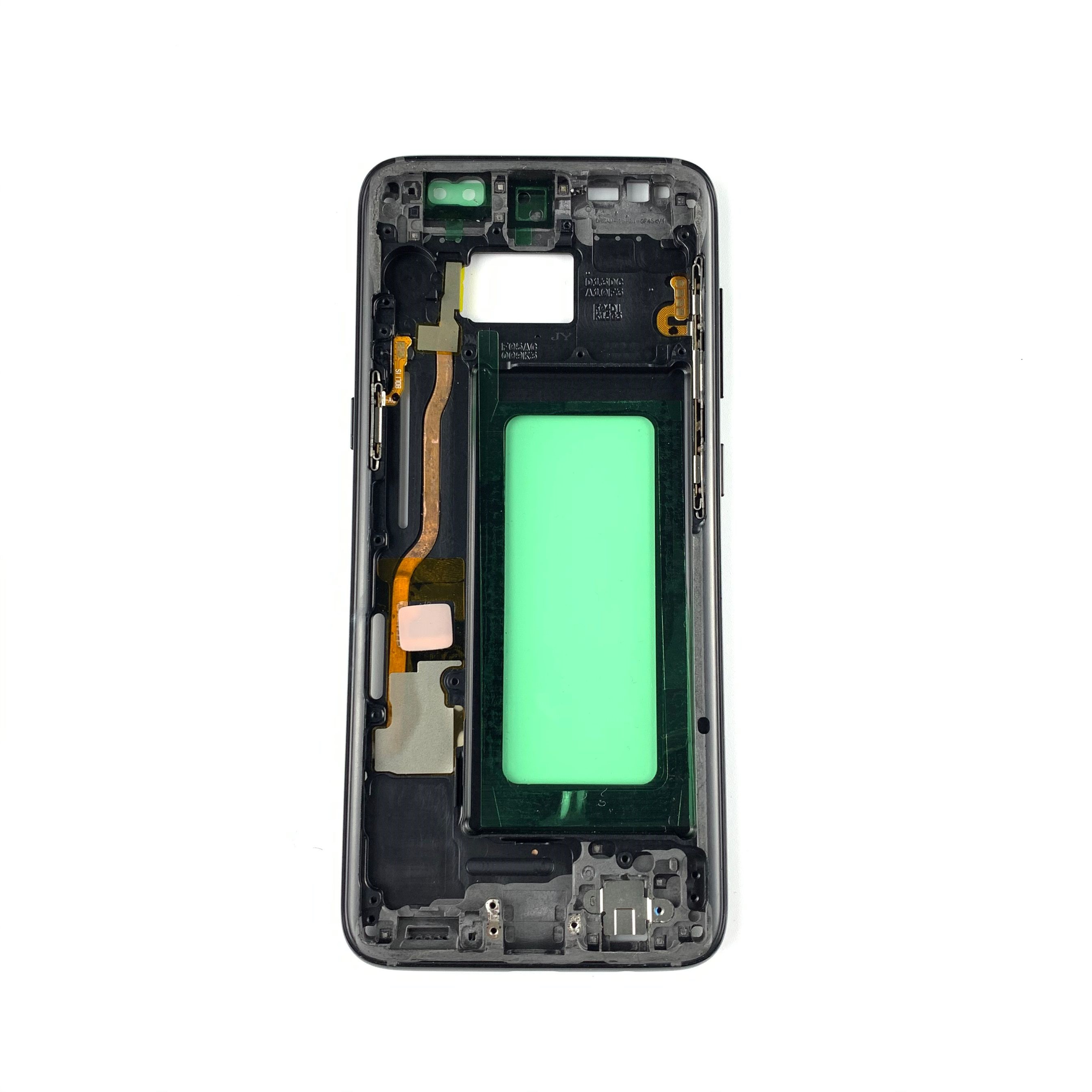 For Samsung galaxy S8 plus G955 S8 G950 Middle Frame Midplate Bezel Chassis Housing Parts For Samsung S9 G960 S9 Plus S10 Plus