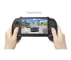 6pcs For PSV1000 PSV 1000 PS VITA 1000 Game Console Matte Hand Grip Handle Joypad Stand Case with L2 R2 Trigger Button