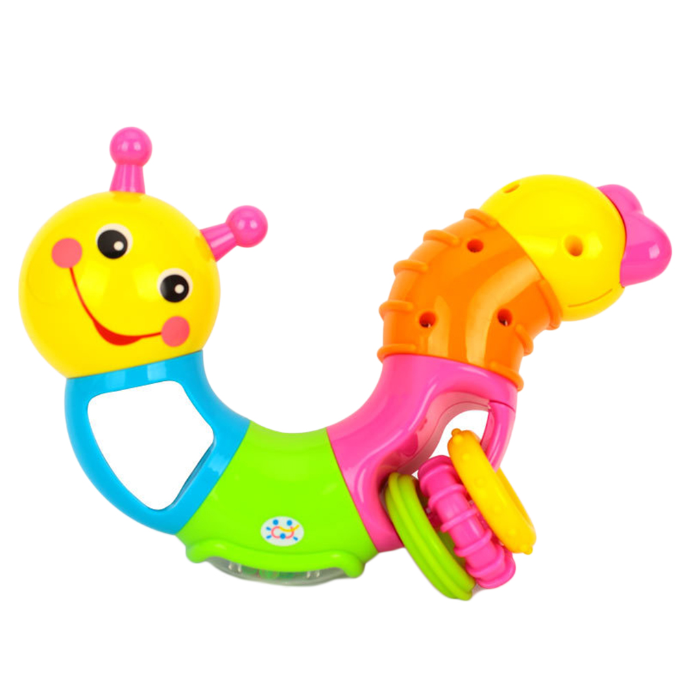 Twisted Worm Shape Children Exercise Arm Toy Baby Children Early Learning Exercise Baby Fingers Flexible Kids Rattle Toy #20