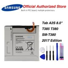 Original Samsung EB-BT367ABE Battery For Samsung Galaxy Tab A2S 8.0 T385 T380 SM-T380 2017 Edition 5000mAh tab a 8 0 2017 litchi folio pu leather case flip cover for samsung galaxy tab a 8 0 2017 a2s t380 t385 sm t385 tablet case