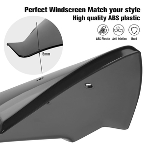 Image 3 - For YAMAHA MT07 FZ07 2018 2019 Motorcycle Windscreen Windshield MT 07 FZ 07 MT 07 Parabris Motorcycle Accessories Wind Deflector