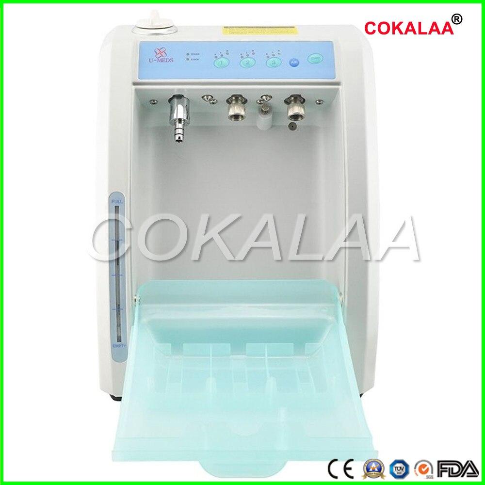 COKALAA Tandheelkundige hoge snelheid en lage soeed Handstuk Oliën Reinigingsmachine Dental Cleaning System Olie Machine - 3