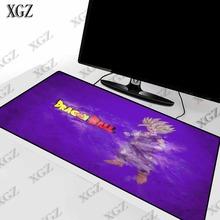 strong Import List strong XGZ Anime Son Gohan anime Z podkładka pod mysz do gier krawędź blokująca duża mata komputer stancjonarny klawiatura laptopa do CS GO Dota Lol tanie tanio RUBBER Other(Other) Zdjęcie 30X60 30X70 40X80 40X90CM Home Office Outdoor Mouse pad table mat carpet mat Precision weaving cloth