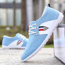 New 2019 Spring Autumn Canvas Shoes Men Sneakers Low Top