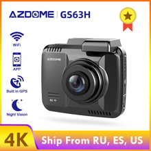 AZDOME 4K Car Dvr GPS GS63H Dash Cam Wifi Vehicle Rear View Camera Dual Lens Night Vision Dashcam 24H Monitor Parking Monitor(China)