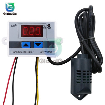 цена на Digital LED Humidity Controller Hygrometer Humidity Control Switch Hygrostat SHT20 Humidity Sensor XH-W3005 W3005 220V 12V 24V