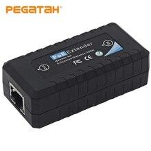 1 портовый удлинитель IEEE802.3af PoE для камеры безопасности удлинитель 100 м дальность передачи с 10/м портом LAN s