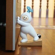 Cartoon Resin Door Stopper Creative Radish Home Block Door Handicraft Ornaments Modern Living Room Bedroom Decorations