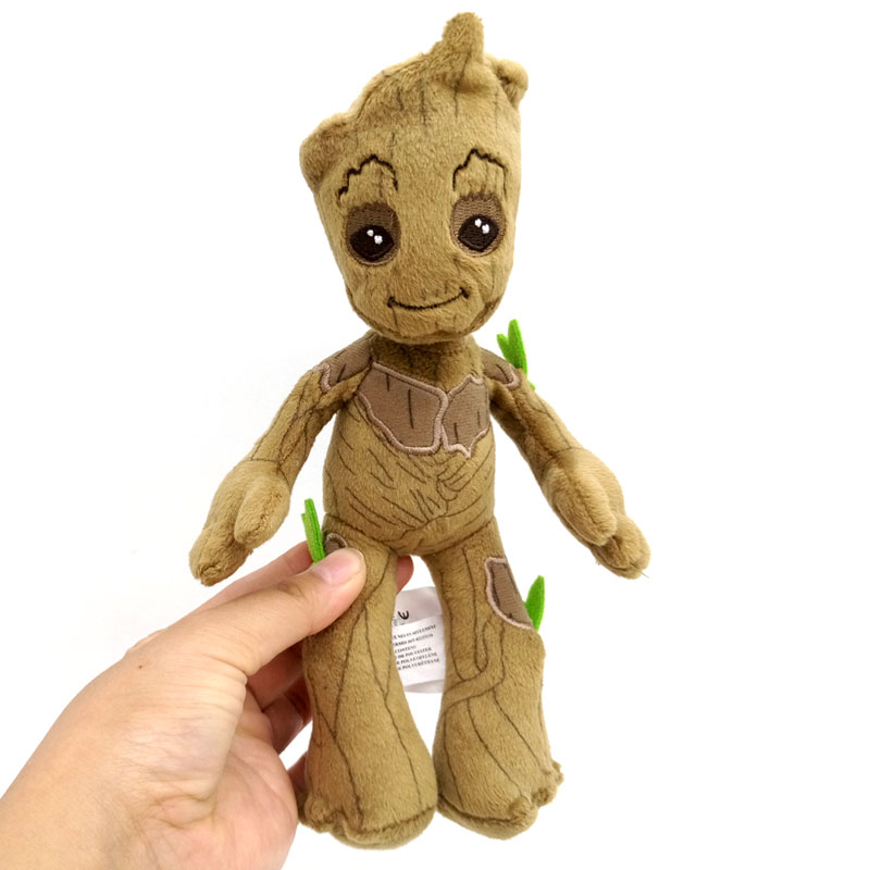 22CM Origina Guardians' Of The Galaxy Mini Baby Action Figure Groot Stuffed Toys Little Tree Man Plush Toy Doll Muppet Toy Dolls