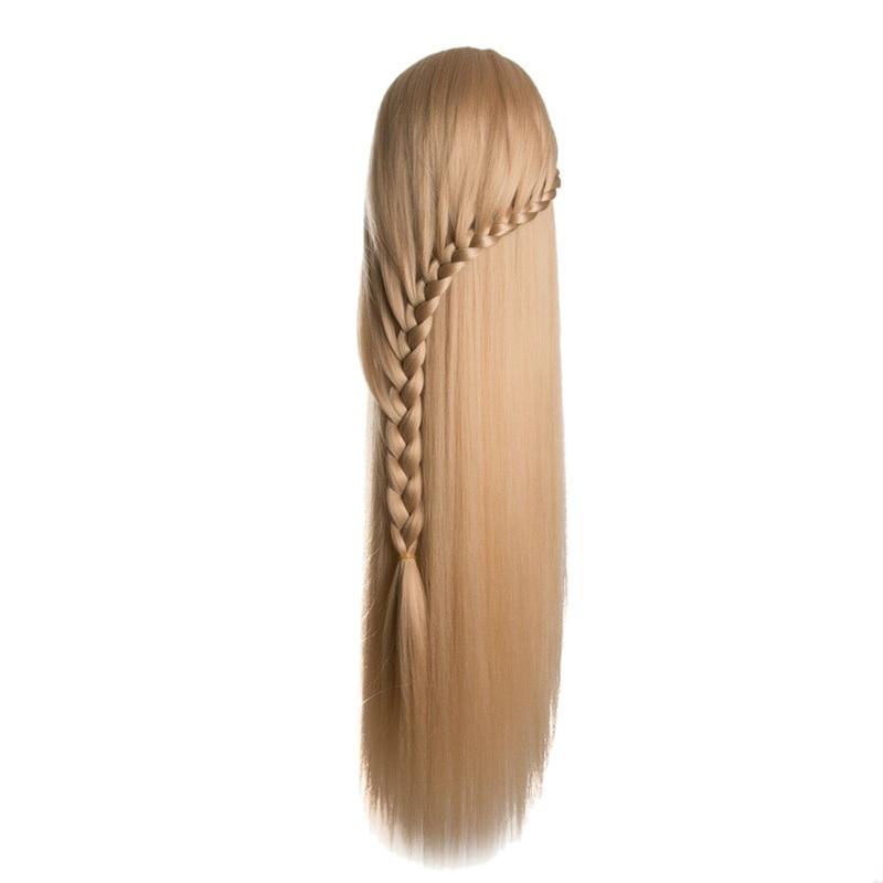 Head Doll Hairdresser 80Cm Hair Synthetic Model Hair Type