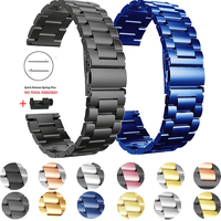 Metall Armband Für Garmin Venu 2 GarminMove 3 GarminActive Vivoactive 4 Band Strap Edelstahl Armband 20mm 22mm armband