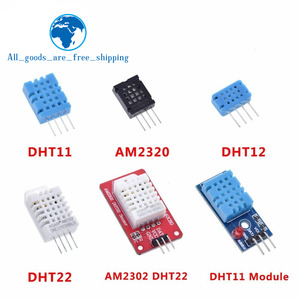 DHT22 AM2302 DHT11/DHT12 AM2320 Digital Temperature Humidity Sensor Module Board For Arduino Ultra-low Power High Precision 4pin(China)
