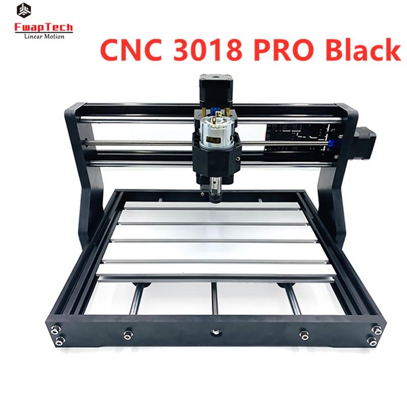 CNC 3018 PRO Laser Engraver Wood CNC Router Machine GRBL ER11 DIY Engraving Machine For Wood PCB PVC Mini CNC3018PRO Engraver