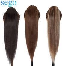 SEGO – Extension de cheveux naturels Remy lisses 14